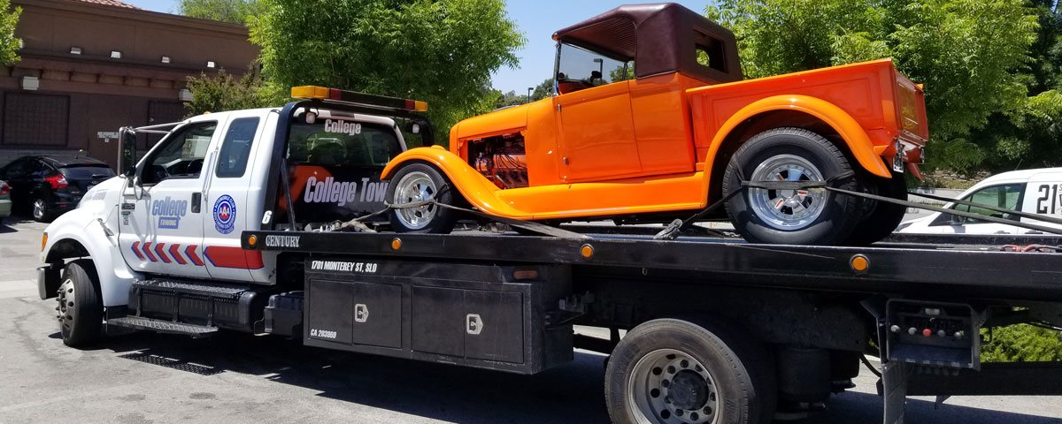 Classic Car, Vintage Vehicle, & Motorcycle Towing